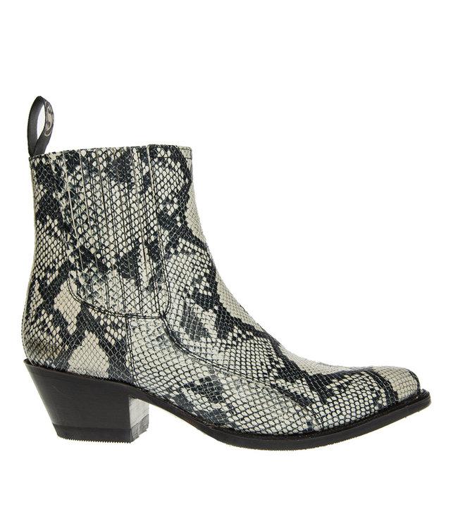 Sendra Sendra ladies boots imitation hose Chelsea