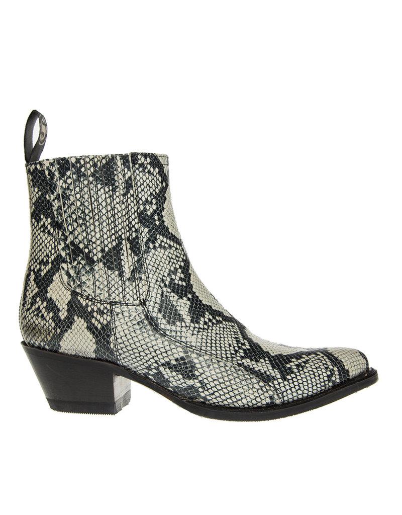 Sendra Sendra  dames chelsea boots imitatie slang