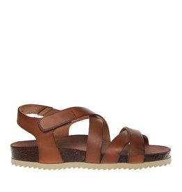 Ca Shott Ca Shott dames sandaal bruin leer