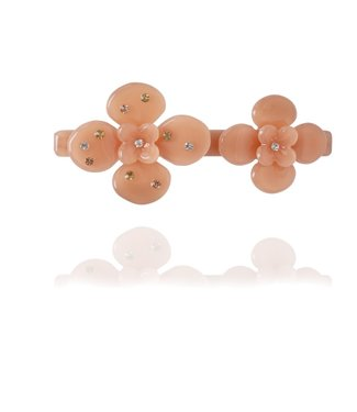 HVISK HVISK Wild Flower peach hair clip