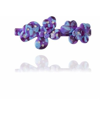 HVISK HVISK Wild Flower purple hair clip