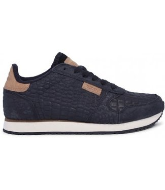 Woden Woden Ydun ladies sneaker black croco