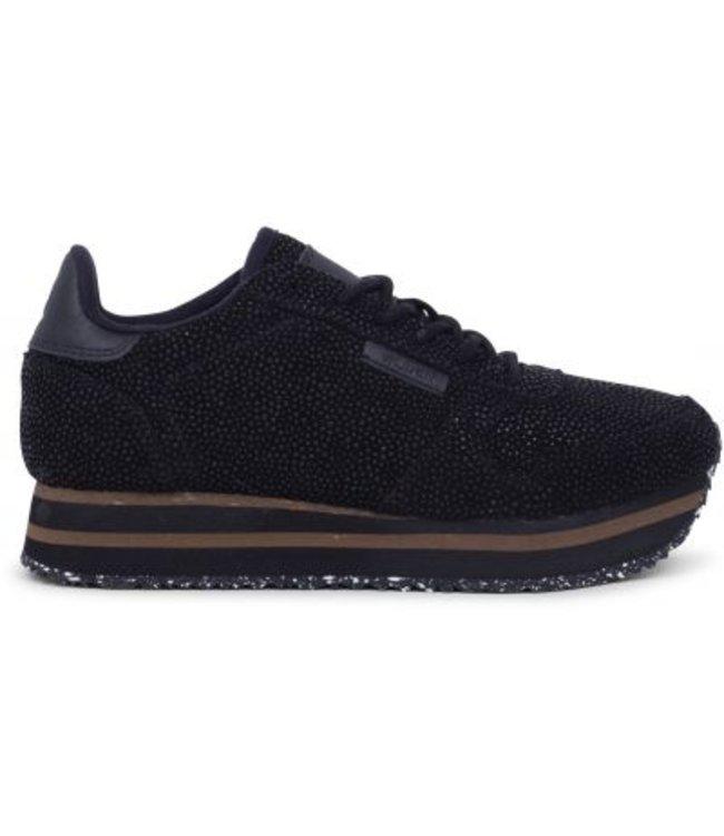 Woden Woden Ydun Pearl Plateau sneakers zwart