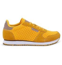 Woden Woden Ydun mesh dames sneaker geel