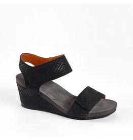Ca Shott Ca Shott dames sandaal anaconda zwart