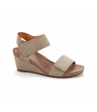 Ca Shott Ca Shott ladies sandal anaconda taupe