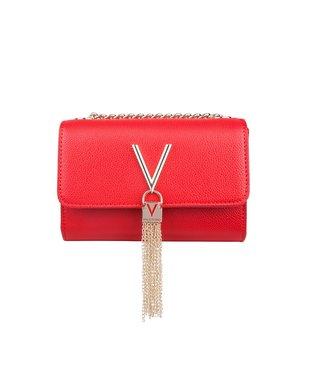 Valentino Divina rood dames schoudertas