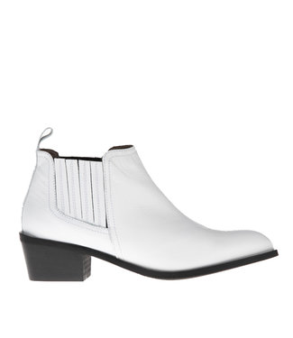 Pedro Miralles Pedro Miralles white leather ankle boot