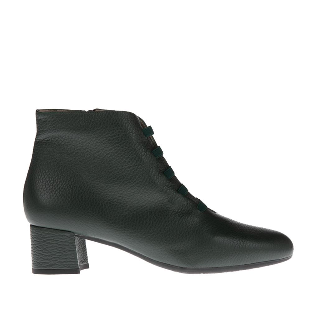 Enkellaarsje Square Feet D2614 grijs leer Squarefeet.nl