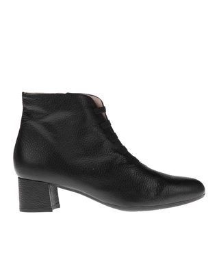 Square Feet korte ritslaars elastiekjes zwart