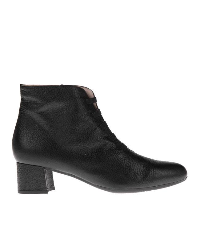 Square Feet Square Feet korte ritslaars elastiekjes zwart