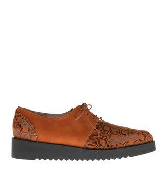 Square Feet Square Feet shoe with orange