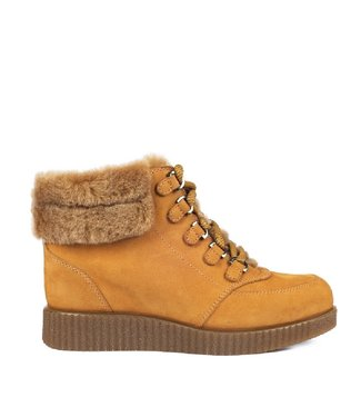 Unisa Unisa Carry lace boots yellow nubuck