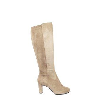 Unisa Unisa Natalie long stretch boot taupe