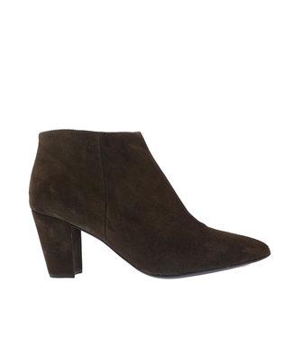 Unisa Unisa Kisner elegant ankle boots green suede