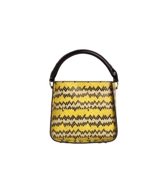 HVISK HVISK Cayman Snake Bucket  geel damestas