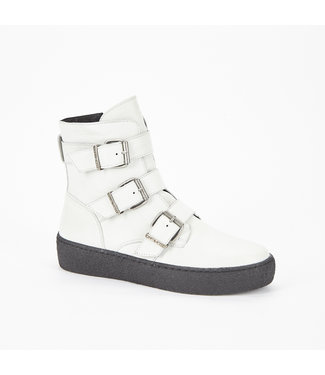 Ca Shott Ca Shott buckle boots white leather