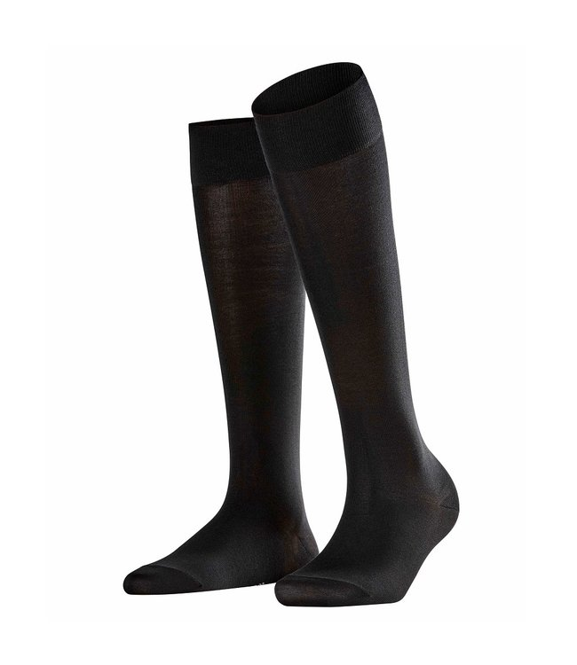 Falke Falke Knee High Socks Cotton Touch Black