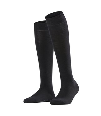 Falke Falke knee socks soft merino Black