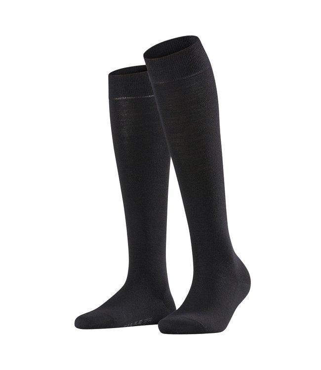 Falke Falke knee socks soft merino Black