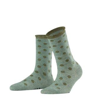 Falke gestipte sokken groen
