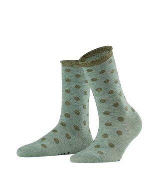 Falke Falke gestipte sokken groen