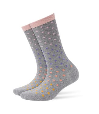Burlington Socks dotty gray dots