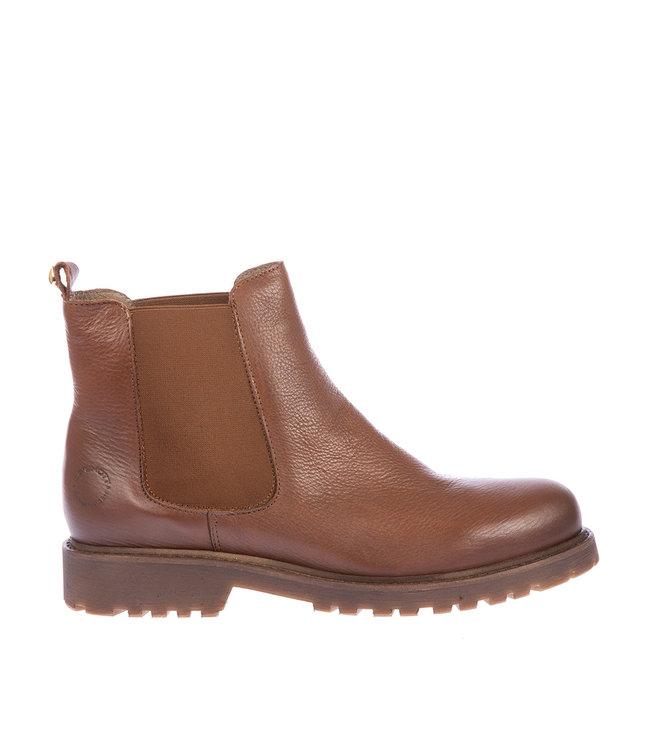 Ca Shott Ca Shott wol gevoerde chelsea boots bruin leer