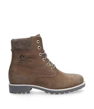 Panama Jack Panama Jack ladies lace-up taupe nubuck leather