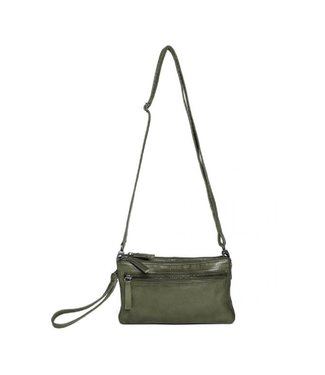 Sticks and Stones Sticks and Stones Ibiza Bag damestas groen
