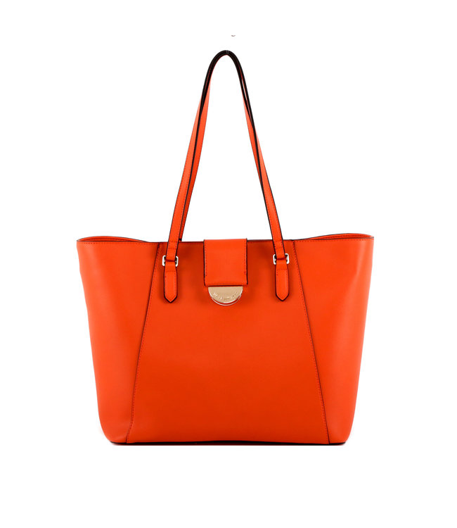 Valentino Valentino Falcor orange ladies shopper