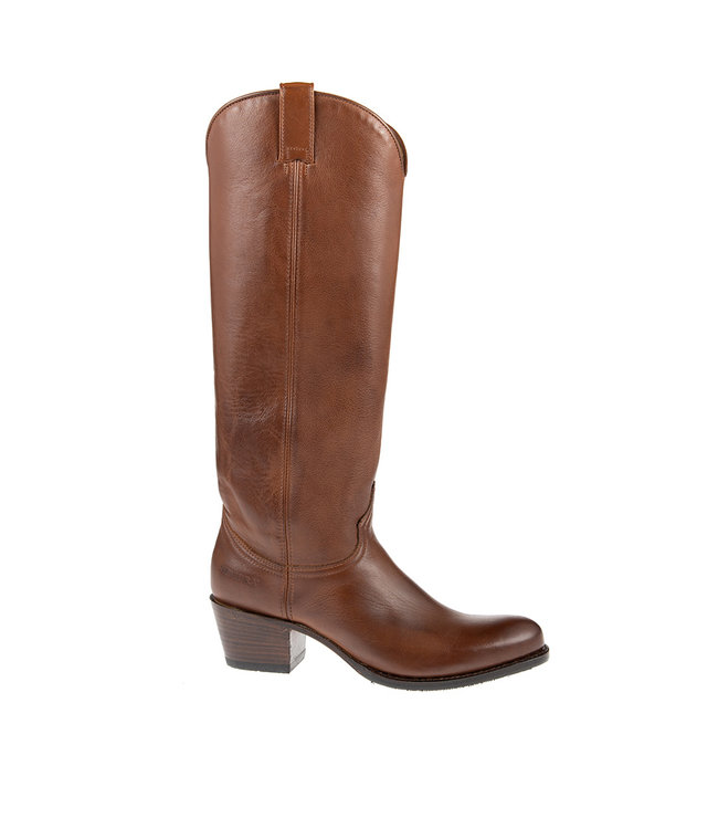 Sendra Sendra cowboy ladies boot brown leather