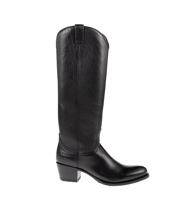 Sendra Sendra cowboy ladies boot black leather