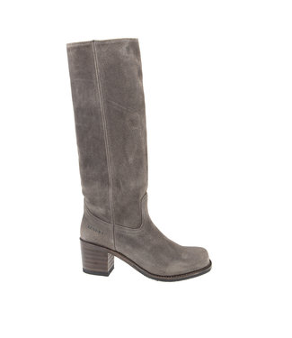 Sendra Sendra cowboy ladies boot gray suede