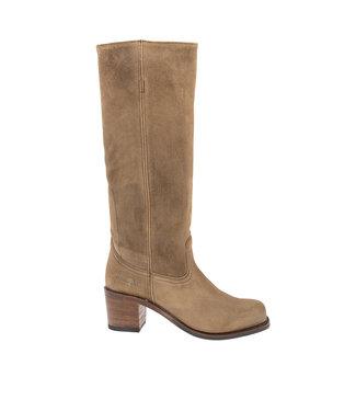 Sendra Sendra cowboy ladies boot taupe suede