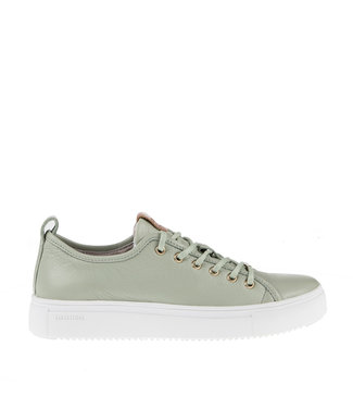 Blackstone Blackstone PL97 reseda groen dames sneaker