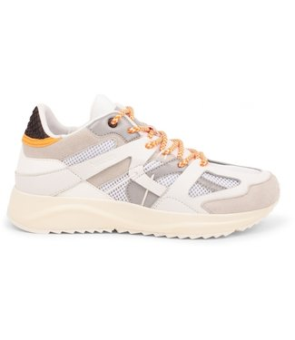 Woden Woden Eve white leather ladies sneaker