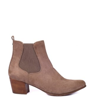 Unisa Unisa Greyson chelsea taupe suede