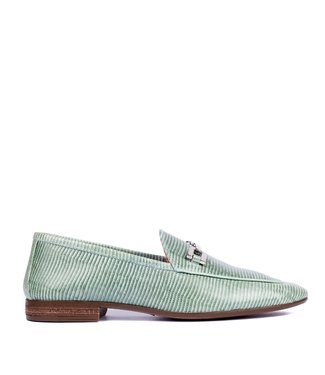 Unisa Unisa Dalcy loafer green lizard