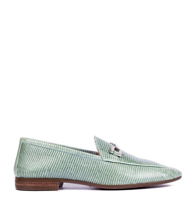 Unisa Unisa Dalcy dames loafer groen lizard