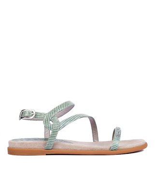 Unisa Unisa Claris mint green leather sandal