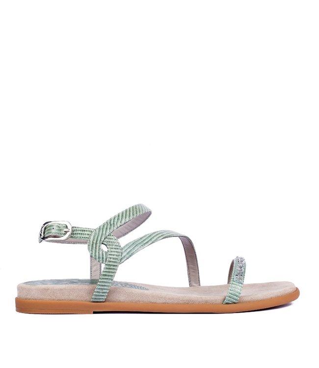 Unisa Unisa Claris mintgroen leren sandaal