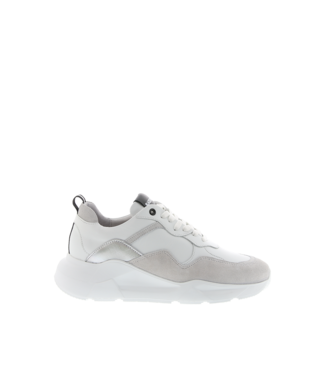 Blackstone Blackstone TW92 white leather ladies sneaker