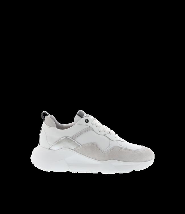 Blackstone Blackstone TW92 white leather ladies sneaker