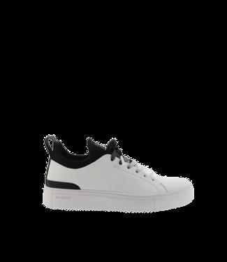 Blackstone Blackstone SD68 wit leer dames sneaker