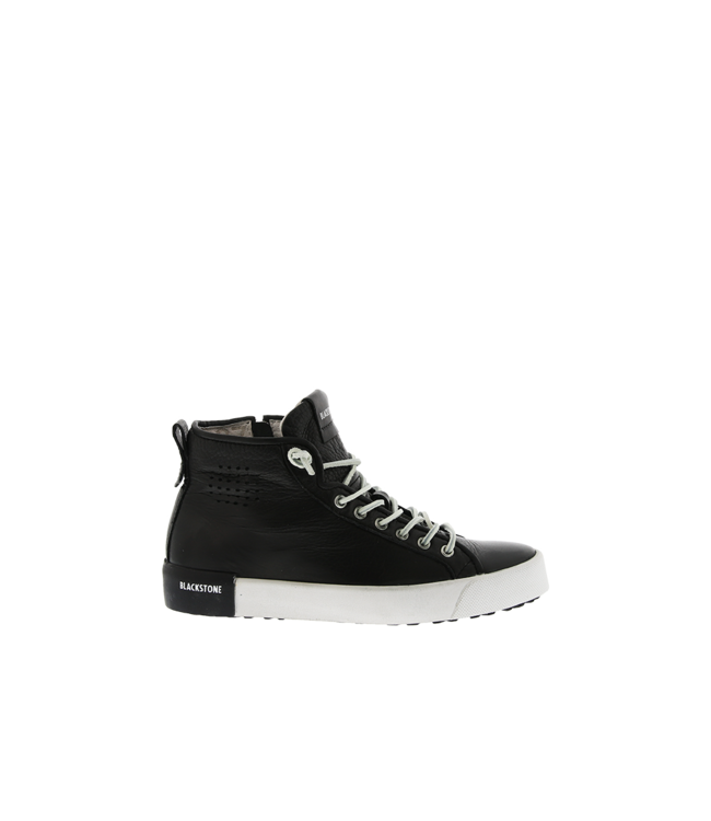 Blackstone Blackstone PL70 zwart leer dames sneakers