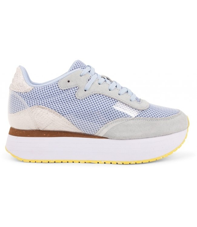 Woden Woden Linea ice blue dames sneakers