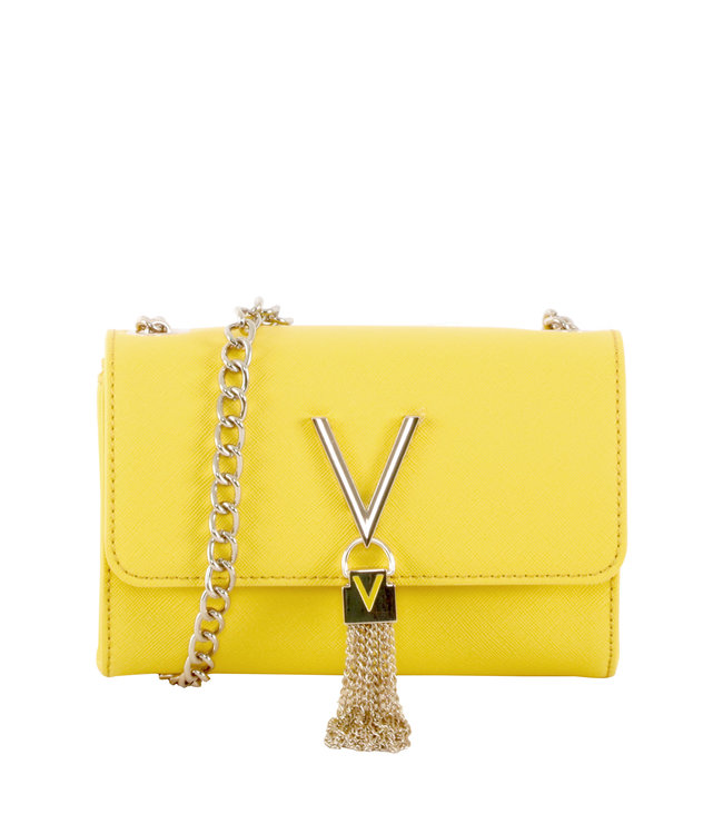 Valentino Valentino Divina geel dames schoudertas