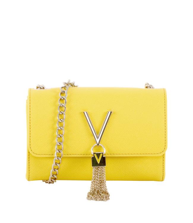 Valentino Valentino Divina Yellow ladies' shoulder bag
