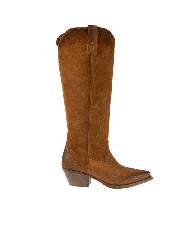 Metisse Metisse ladies boots brown suede